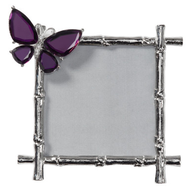 Butterfly Jeweled Frame