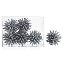 Faux Allium Sphere - Set of 6
