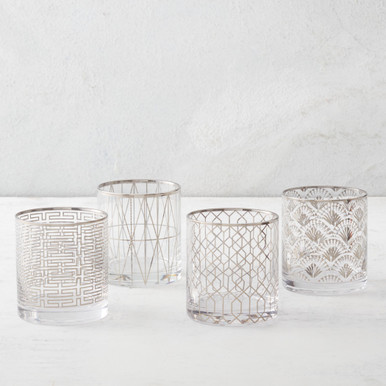 Soiree Double Old-Fashioned - Set of 4