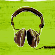 Digital Deco Headphones - Glass Coat