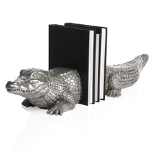 Alligator Bookends