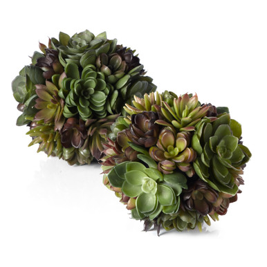 Faux Succulent Ball