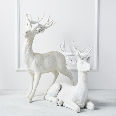 "Majestic Deer - 22""H & 32""H"