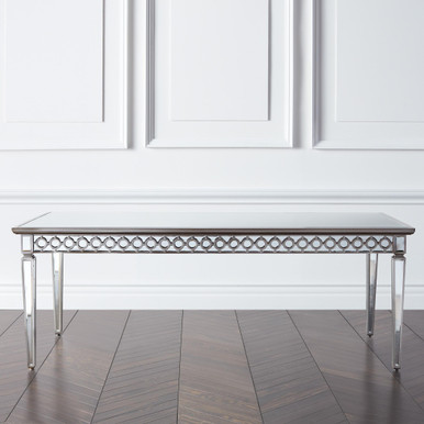 In Stock - Sophie Mirrored Dining Table