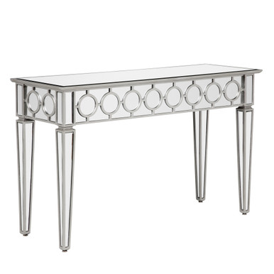 In Stock - Sophie Mirrored Console Table