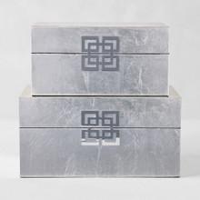 Ming Boxes - Set of 2