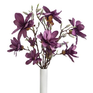 Faux Magnolia Spray - Set of 3