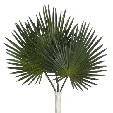 Faux Palm Stem - Set of 3