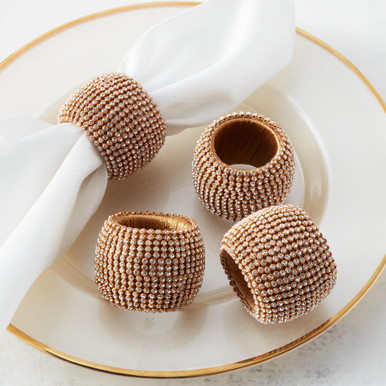 Victoria Napkin Ring - Set of 4