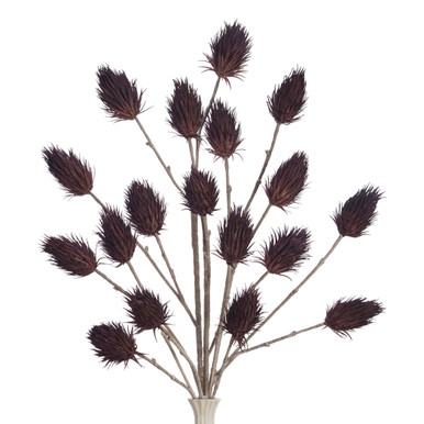 Faux Thistle Branch - Set of 3