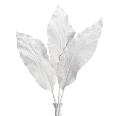 Canna Leaf Branch - Set of 3