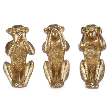 Wise Monkeys - Set Of 3