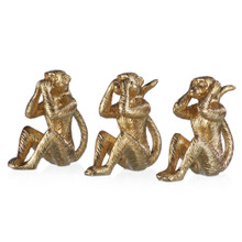 Wise Monkeys - Set Of 3