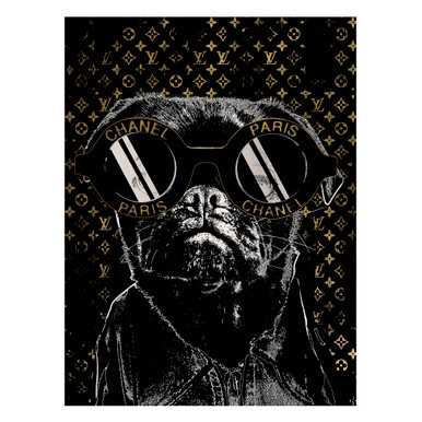 Fashion Noir Frenchie
