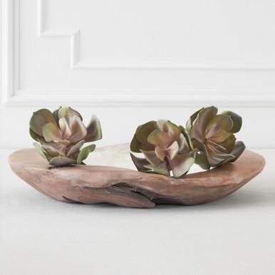 Faux Echeveria Succulent Pick