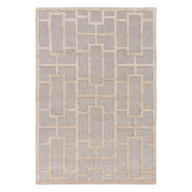 Arabesque Rug - Gold / Natural