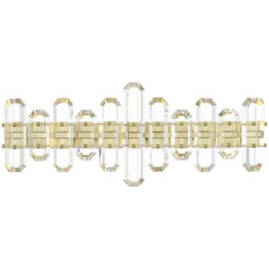Fallon 3 Light Vanity - Aged Brass