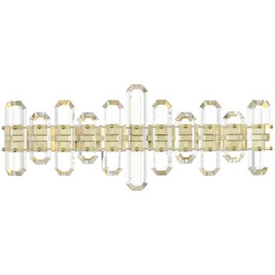 Fallon 3 Light Vanity - Aged Brass