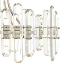 Fallon 8 Light Chandelier - Polished Nickel