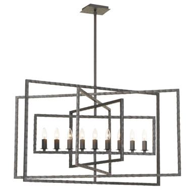 Knix 9 Light Chandelier
