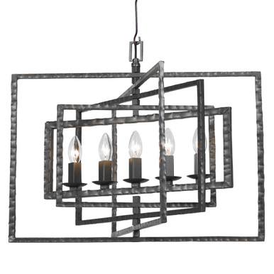 Knix 5 Light Chandelier