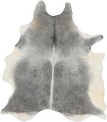 Vache Hair On Hide Rug - Grey