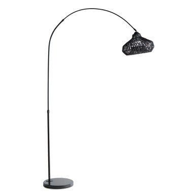 Amina Floor Lamp - Black