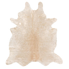 Dover Hair On Hide Rug - Gold