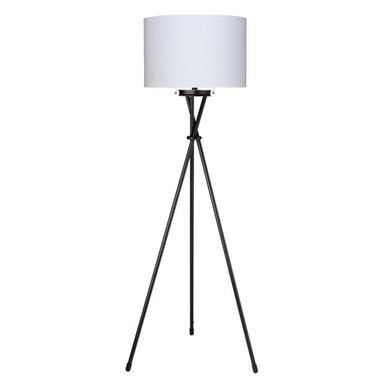 Max Floor Lamp - Black