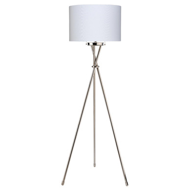 Max Floor Lamp - Nickel