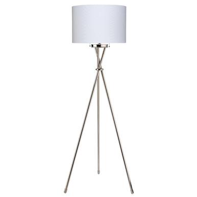 Max Floor Lamp - Nickel