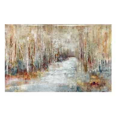 Through The Birch - Glass Coat