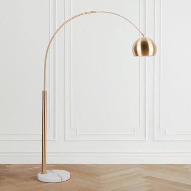 Orson Floor Lamp - Brass