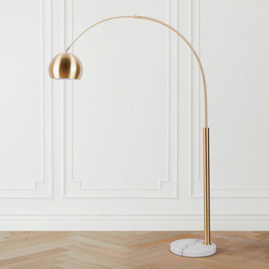 Orson Floor Lamp - Brass