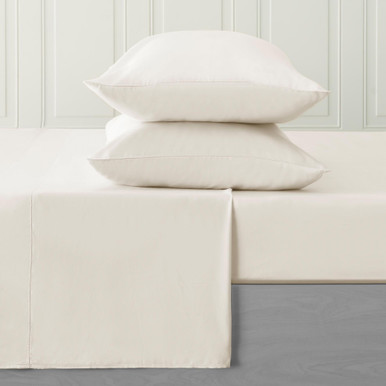 Clarissa Sheet  & Pillowcase Sets - Ivory