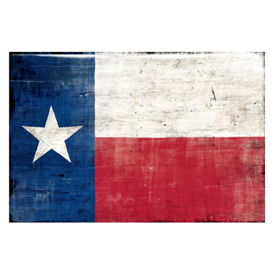 Texas Flag - Glass Coat