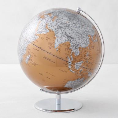 World Globe - Gold