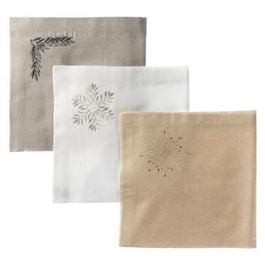 Kingston Embroidered Napkin - Set of 4