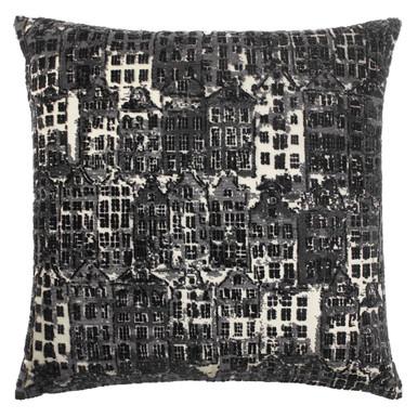 "Cityscape Pillow 24"""