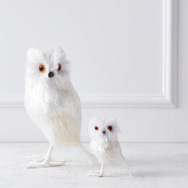 Irridescent Owl - Set of 2