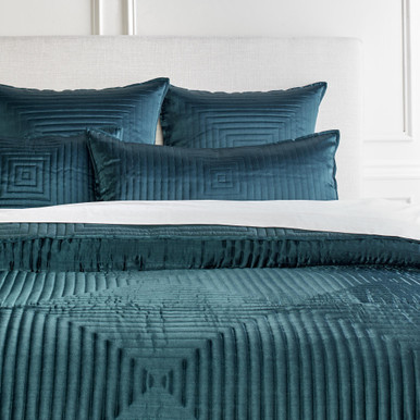 Ares Bedding - Cerulean