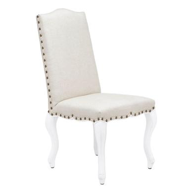 Florette Dining Chair - High Gloss White