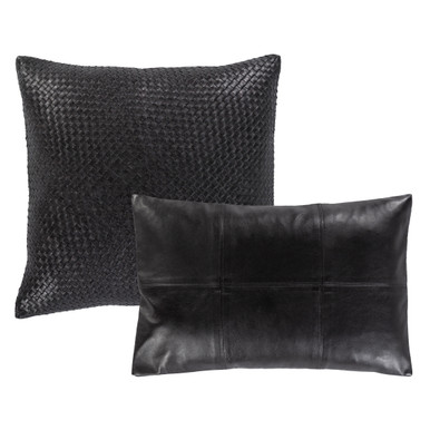 Ophelia Leather Pillow Collection