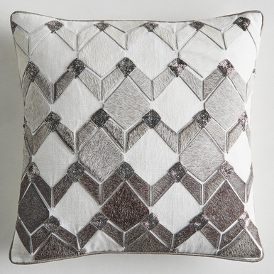 Colton Hair On Hide Pillow Cover 18""