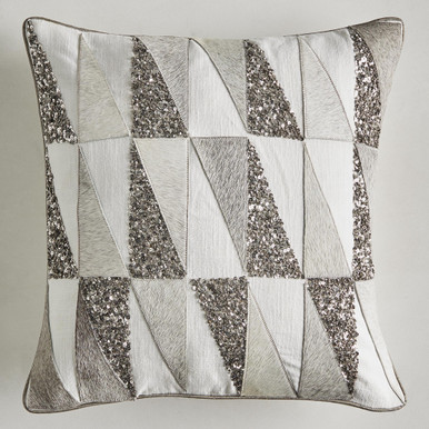 Corbett Hair On Hide Pillow Cover 18""