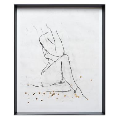 Nude Contour Sketch 1