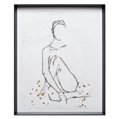 Nude Contour Sketch 2