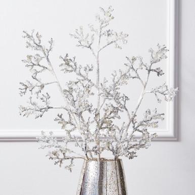 Glitter Ice Branch - Set of 3