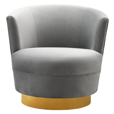 Davi Swivel Chair - ZG x TOV