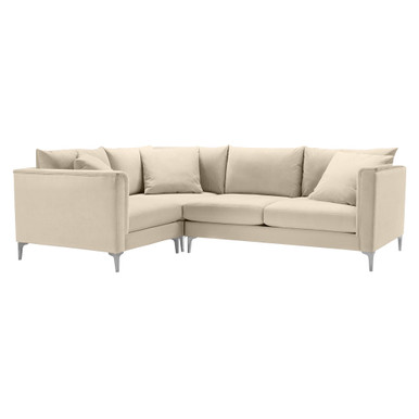 Details Soft Roll Arm Corner Sectional